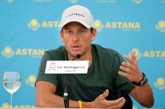Lance Armstrong. Foto EFE