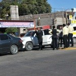 El accidente se registró sobre el bulevar Luis Donaldo Colosio.