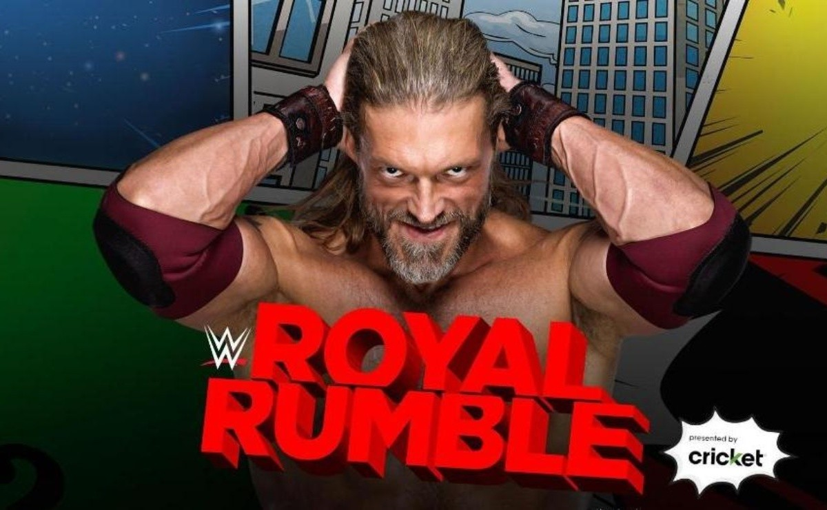 Edge es confirmado para participar en el Royal Rumble 2021(Twitter WWE)